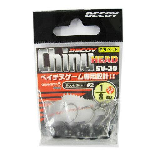 カツイチ チヌヘッド(Chinu HEAD) SV−30 2 1/8oz【ゆうパケット】