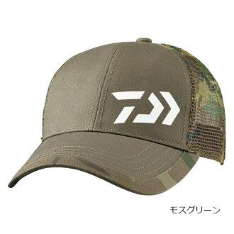 无大和(Daiwa)伪装半网丝盖子DC-7007苔绿色