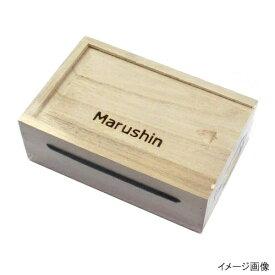 【3店舗で買いまわりをしてP10倍!】マルシン漁具(DRAGON) 桐エサ箱 スライド式 M