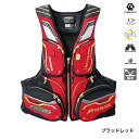 シマノ(SHIMANO) NEXUS FLOATING VEST LIMITED PRO VF-113Q L ブラッドレッド