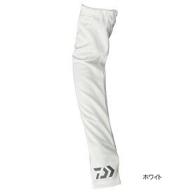 【8月25日エントリーで最大P36倍!】ダイワ クールアームカバー DG-77009 M ホワイト【ゆうパケット】
