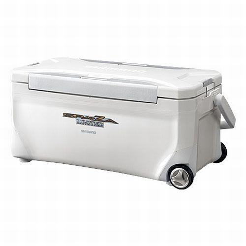 シマノ スペーザ リミテッド 350 キャスター付 HC−135M ホワイト クーラーボックス【6co01】