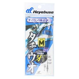 太刀魚 ナイロン1本鈎 3セット M [HW320]【ゆうパケット】
