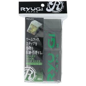 ささめ針 RYUGI シングルフックストッカーII BSS125 ディープグレー