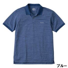 シマノ スタンダードポロシャツ(半袖) L ブルー SH-074U