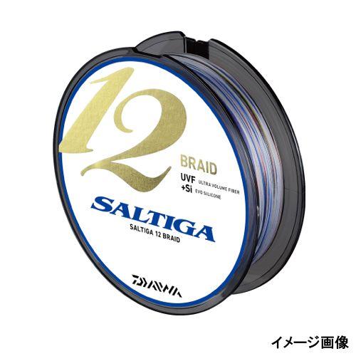【売り尽くし】ダイワ ソルティガ 12ブレイド 600m 1.2号 スーパーホワイト/ブルー/オレンジ/パープル/グリーン