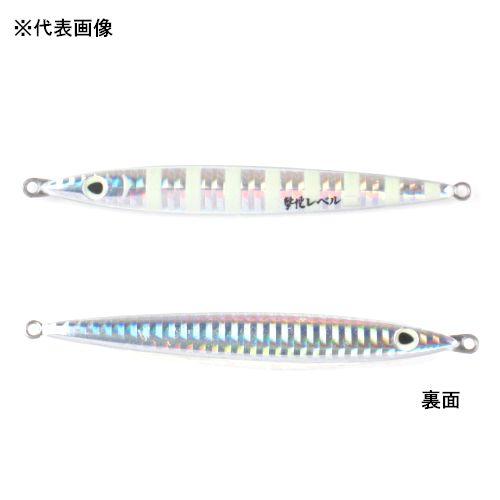 オーナー 撃投ジグ レベル 60g 18(スローゼブラ/グロー)【ゆうパケット】