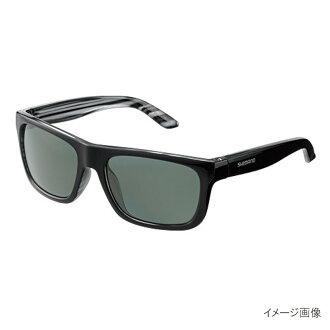 Shimano(SHIMANO)釣魚玻璃杯PC WE HG-092P黑色/天然綠色