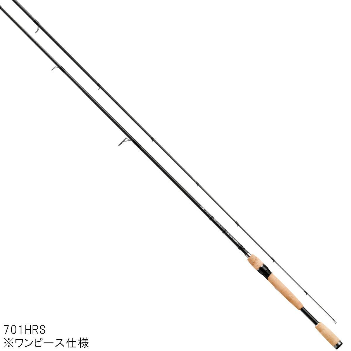 ダイワ ブラックレーベル+ スピニングモデル 701HRS【大型商品】
