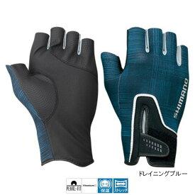 シマノ パールフィットグローブ5 GL-092Q M ドレイニングブルー【ゆうパケット】