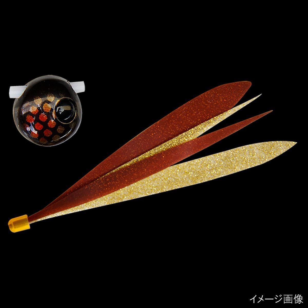 ジャッカル ビンビン玉スライド Wアピール 100g ダークコーラ/カニ&タコシルエット