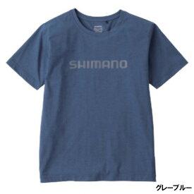 シマノ スタンダードTシャツ(半袖) M グレーブルー SH-096U