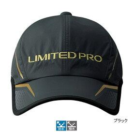【12/5 最大P50倍!】シマノ 撥水ハーフメッシュキャップLIMITED PRO CA-022S キング ブラック