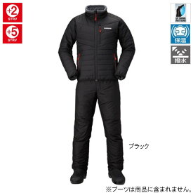 【現品限り】シマノ ベーシック インシュレーション スーツ MD-055Q XL ブラック