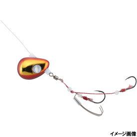 ジャッカル ビンビンテンヤ鯛夢遊動 10号 レッド/ゴールド【ゆうパケット】