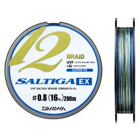ダイワ UVF ソルティガセンサー 12ブレイドEX+Si 200m 0.8号【ゆうパケット】