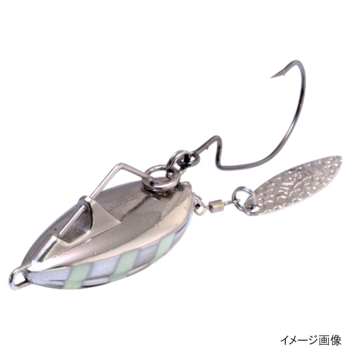 マグバイト バサロHD MBL05 40g 03ZS(ゼブラシルバー)【ゆうパケット】