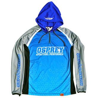 艉,p (OSP) M 蓝色盔状长套筒 T 衬衫模型 5 (干式)