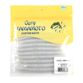ゲーリーヤマモト 4インチ ヤマセンコー 031(パールホワイト/シルバーフレーク)【ゆうパケット】