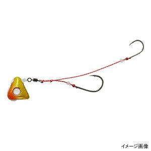 ダイワ 紅牙 遊動テンヤ+SS 8号 オレンジ/金【ゆうパケット】