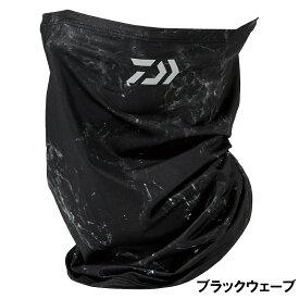 ダイワ DA-9721 アイスドライ クールネック&フェイスカバー フリー ブラックウェーブ【ゆうパケット】
