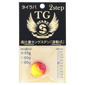 2Step TGヘッド 45g ゴールドレッド【ゆうパケット】
