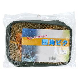 【ブラックフライデー期間中最大P32倍!】マルシン漁具(DRAGON) ドラゴン 四角ビク L 27cm