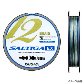 ダイワ UVF ソルティガセンサー 12ブレイドEX+Si 200m 1.5号【ゆうパケット】