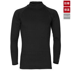 【ブラックフライデー期間中最大P32倍!】タカミヤ REAL METHOD シャギーボアハイネックコンプレッションシャツ XL ブラック (防寒)