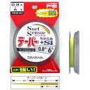 ダイワ(Daiwa) サーフセンサー ハイパーテーパー ちから糸+Si 12m×1本 0.8—6号
