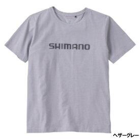 シマノ スタンダードTシャツ(半袖) L ヘザーグレー SH-096U