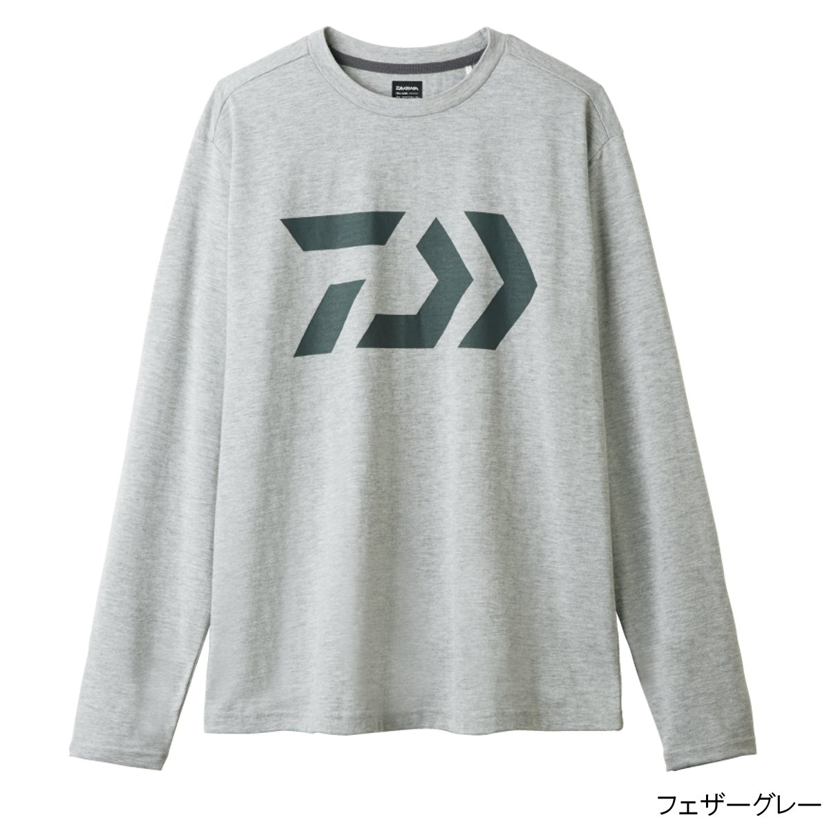 ダイワ ロングスリーブシャツ DE-8207 L フェザーグレー