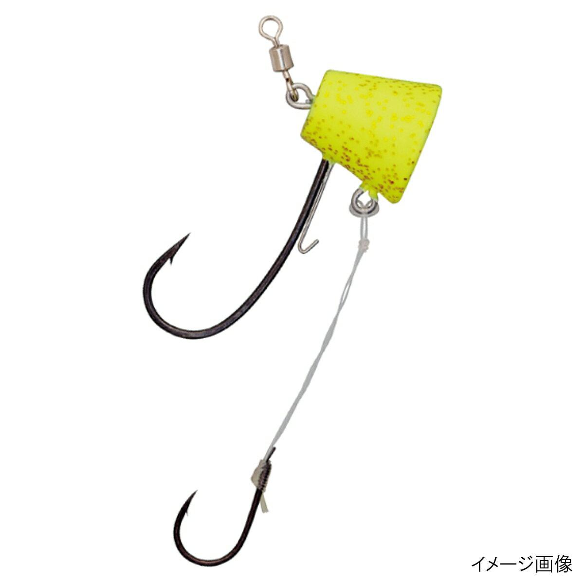 ダイワ 紅牙タイテンヤSS エビキーパー付 8号 チャート夜光/ゴールドラメ【ゆうパケット】