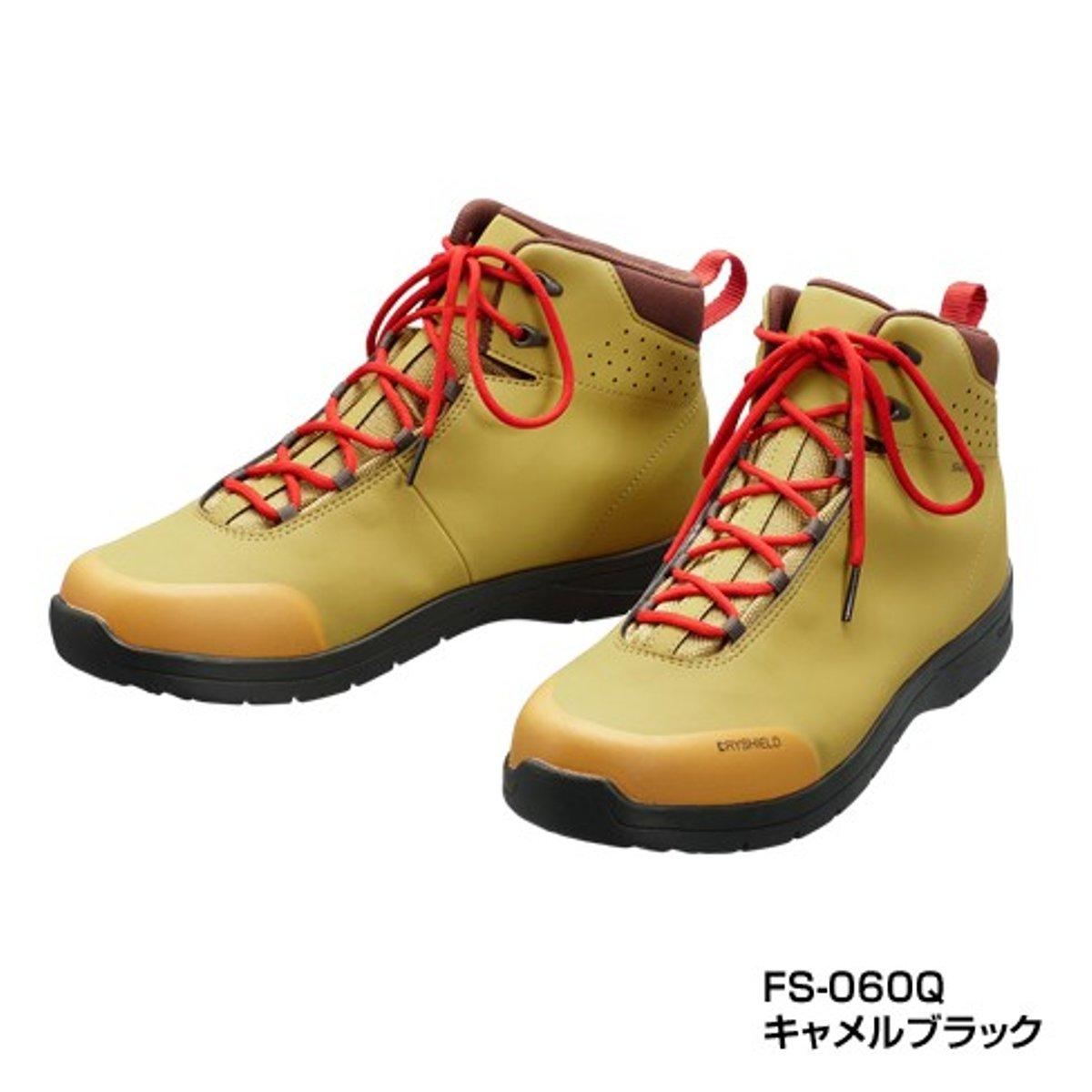 シマノ ドライシールド・ラジアルスパイクシューズ(ハイカットタイプ) FS-060Q 25.5cm キャメルブラック