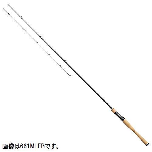 ダイワ ブラックレーベル+ ベイトキャスティングモデル 661MLFB【大型商品】
