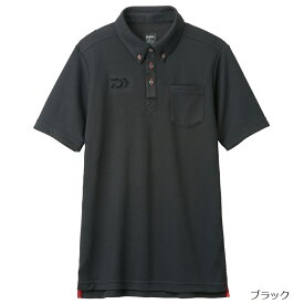 【6月25日は楽天カードがお得!エントリーで最大35倍!】ダイワ ボタンダウンポロシャツ DE-6507 XL ブラック