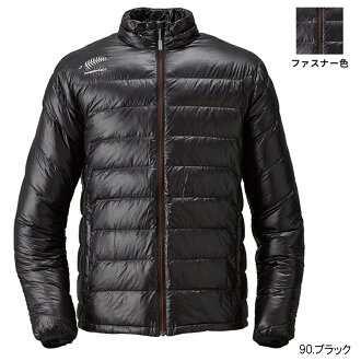 It is black falcon-free knot FOURON ultra light down jacket Y1128 LL 90