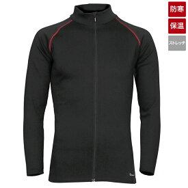 タカミヤ REAL METHOD シャギーボアフルジップコンプレッションシャツ LL ブラック