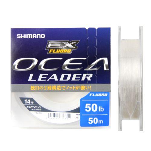 シマノ オシア リーダー EX フロロ CL−036L 50m 14号