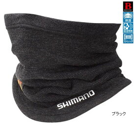 シマノ ブレスハイパー+℃ ネックウォーマー AC-024Q フリー ブラック