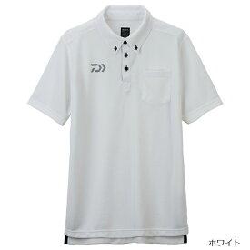 【6月25日は楽天カードがお得!エントリーで最大35倍!】ダイワ ボタンダウンポロシャツ DE-6507 2XL ホワイト