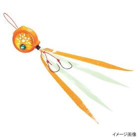 【現品限り】【売り尽くし】シマノ 【訳あり売り尽し50%OFF】炎月 フラットバクバク EJ-715R 150g 006 オレンジスポッツ