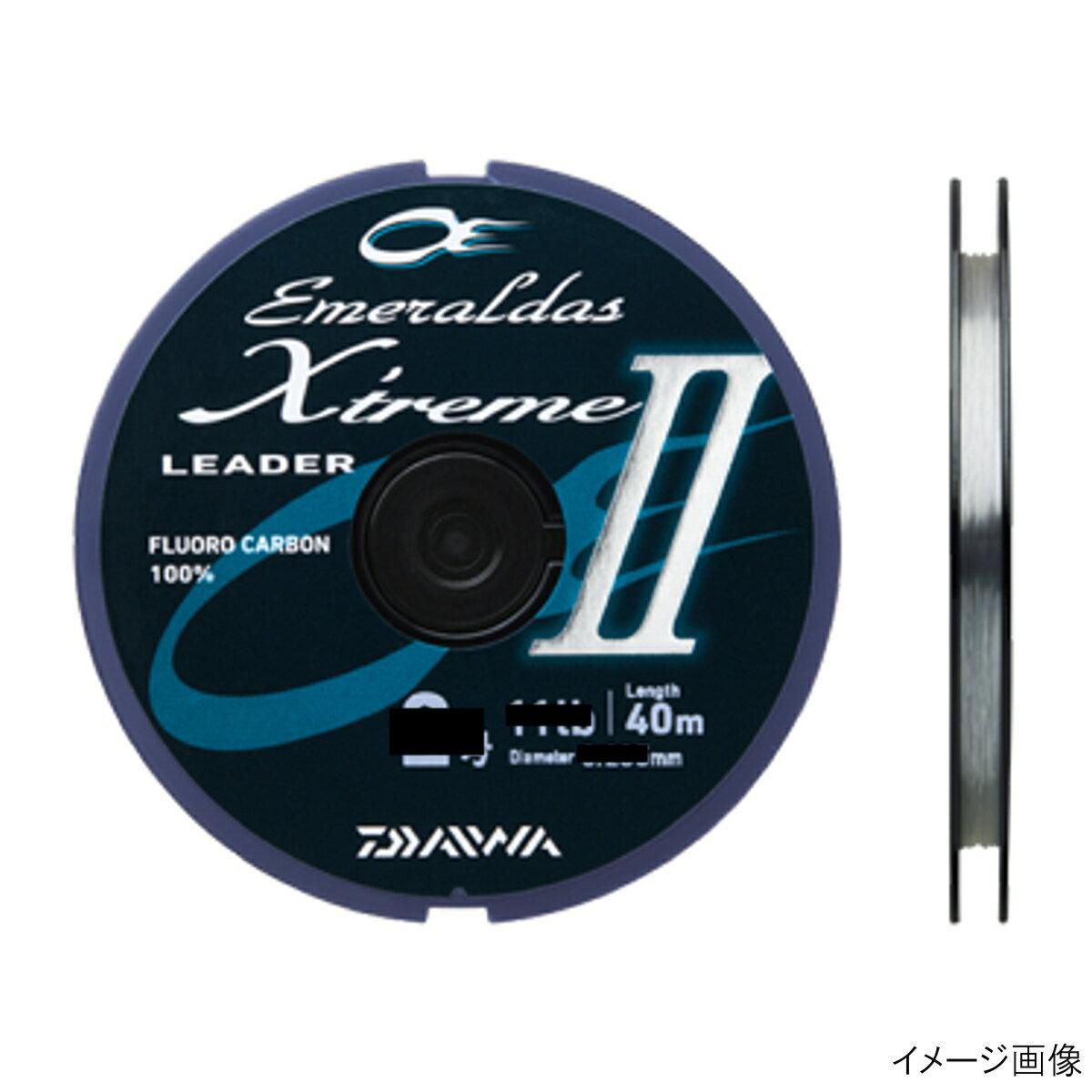 ダイワ エメラルダス リーダー エクストリーム II 40m 2.5号 ナチュラル【ゆうパケット】