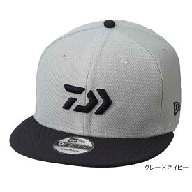 ダイワ 9FIFTY Collaboration with NEW ERA DC-5109N フリー グレー×ネイビー