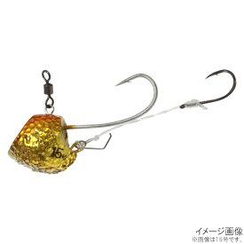 無双真鯛 貫撃鉛カブラ エビズレン仕様 SE109 25号 2.UVサンライズオレンジ