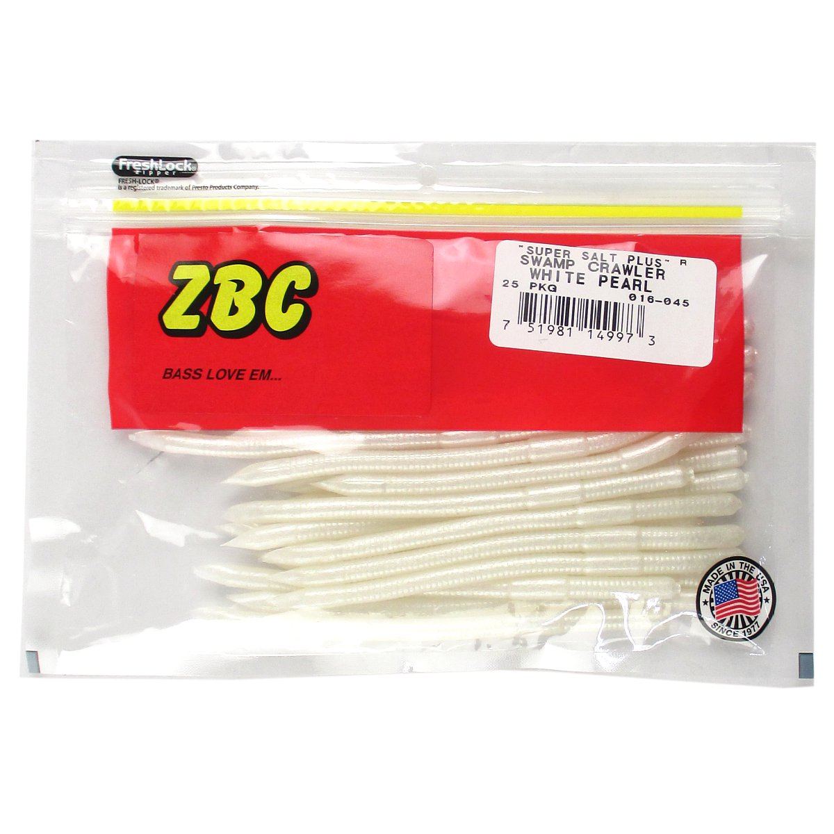 ZBC スワンプクローラー 045 WHITE PEARL