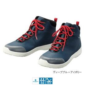 シマノ ドライシールド デッキラジアルシューズ(ハイカットタイプ) FS-061Q 27.5cm ディープブルーアイボリー