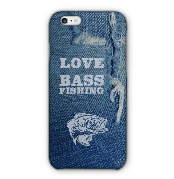 Love Bass Fishing(代引決済不可)【スマホケース ハードケース型】