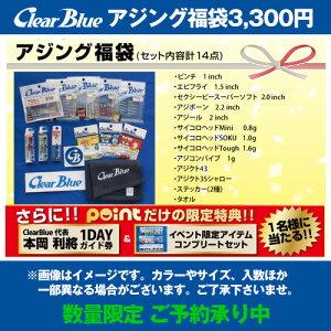 【福袋売り尽し】2020年 クリアブルー 福袋3300円アジング【同梱不可】