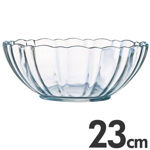 アルコロック Arcoroc【ガラス製】 アルカード サラダボール(サラダボウル) 23cm 00515